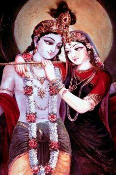 Indisches Liebespaar