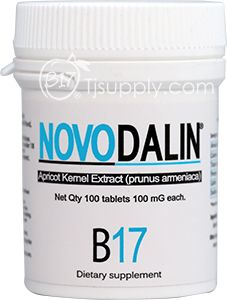 Novodalin   Laetrile -100mg Tablets, Order it online from this company. This stuff kills cancer, do the research, it's not new.