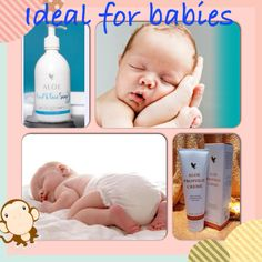 Aloe ideal for babies! Are you on maternity leave? Dont want to go back to work? You can build a business working from home with our products. Contact me for more information on how you can be a stay at home mum.