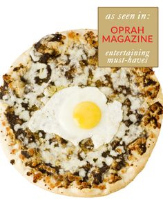Pizza Romana Black Truffle and Wild Mushroom Pizza as featured in Oprah magazine image