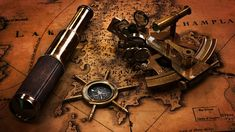 A sextant is an instrument with a graduated arc of 60° and a sighting mechanism, used for measuring the angular distances between objects and especially for taking altitudes in navigation.