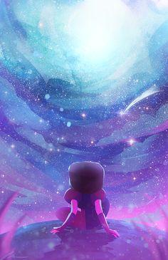 zandraart:  stargazing~