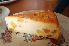 Schneller bodenloser Apfel - Käsekuchen 8