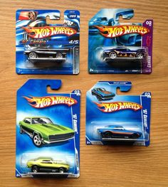 Hot Wheels 67 Chevy Camaro Lot of 4 Classics Muscle Car Variations
