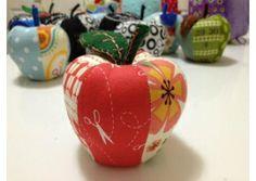 Rosey Apple Pincushion - Teacher Gift