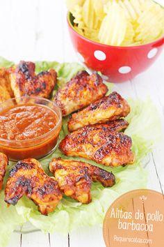 Las alitas de pollo con salsa barbacoa son una de las recetas de pollo más populares con los niños. Descubre la receta de alitas de pollo con salsa barbacoa