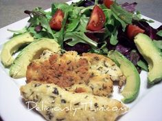 Parmesan Crusted Chicken, made it for dinner tonight, easy and delicious! :)