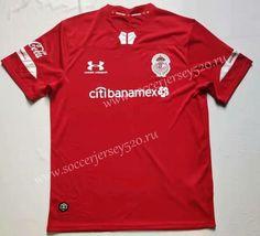 Club Deportivo Toluca Diablos Rojos Kid/'s Soccer Jersey Futbol Mexico