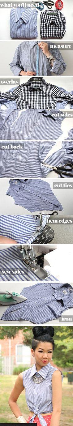 DIY Cropped Tie Top    http://www.chictopia.com/photo/show/700353-DIY+Cropped+Tie+Top-sky-blue-cropped-blouse