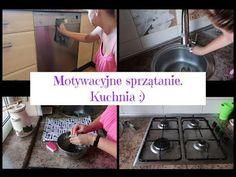 Motywacyjne sprzątanie. Kuchnia. Posprzątaj ze mną :) - YouTube Dog Bowls, Stove, Kitchen Appliances, Youtube, Diy Kitchen Appliances, Home Appliances, Hearth, Youtubers, Kitchen Stove