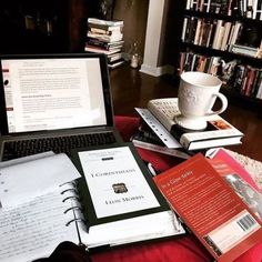 Image de books, college, and motivation Coffee Study, Coffee And Books, College Aesthetic, Study Organization, Pretty Notes, Study Space, Study Desk, Study Hard, School Notes