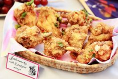 """Easy food for an Alice & Wonderland party. """"Jabberwocky salt & pepper wings."""" Avery and augustine blog"""