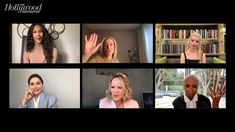 Gillian Anderson, Cynthia Erivo Discuss Hollywood Pay Equity Black Makeup Artist, Cynthia Erivo, Black Actresses, Star David, Anya Taylor Joy, David Duchovny, Zoom Call, Gillian Anderson, The Hollywood Reporter