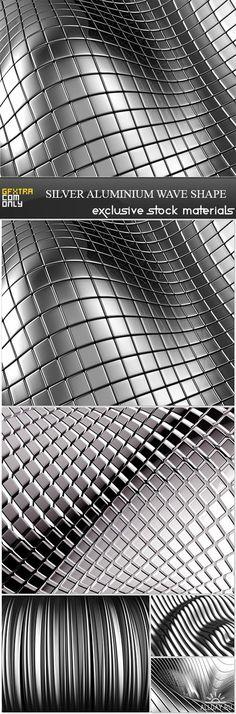 Silver Aluminium Wave Shape