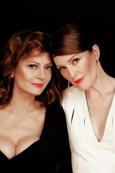 Susan Sarandon & Julianne Moore for L'Oreal