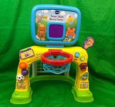 VTech Smart Shots Sports Center Lights And Sounds Educational   | eBay
