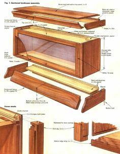 How to Build a Barristers Bookcase More