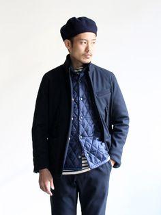 Fashion Men, Fashion Details, Engineered Garments, Zuko, Closet Staples, Green Man, Well Dressed Men, Indigo Blue, Cool Names