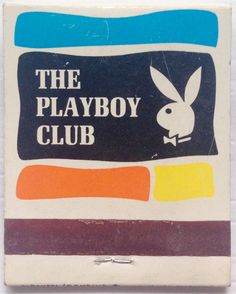 The #Playboy Club  Miami #frontstriker #matchbook - To design & order your…