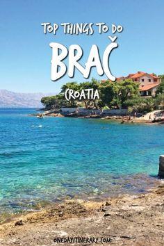 Top Things to do in Brac Croatia