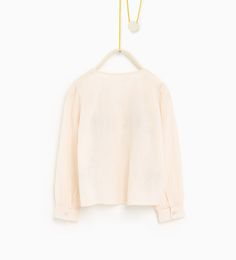 ZARA - KIDS - Embroidered blouse