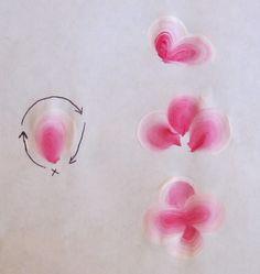 hydrangea flower petal worksheet