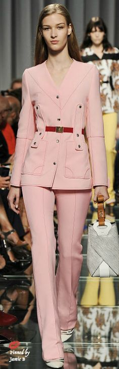 ♣ Why do I love this pink Louis Vuitton suit??? I DON'T KNOW! But I do Resort 2015 | Jamie B