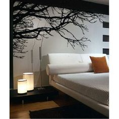 High quality!with transfer film!2013New Original Design 200*83cm Tree Top Branches DIY Art Vinyl Wall Stickers/Decal Decor Mural-in Wall Stickers from Home & Garden on Aliexpress.com