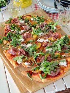 Sommer-Pizza mit Pfi