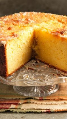 Low FODMAP and Gluten Free Recipe - Citrus cake