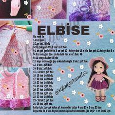 How To Crochet an Amigurumi Rabbit Amigurumi Patterns, Amigurumi Doll, Doll Patterns, Crochet Doll Pattern, Crochet Dolls, Crochet Birds, Crochet Baby, Herringbone Stitch Tutorial, How To Start Knitting