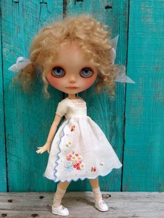 blythe snowflake outfit - Google Search