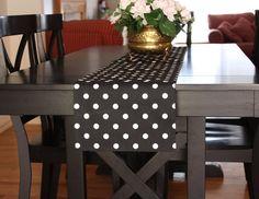 polka dot table runner - Google Search