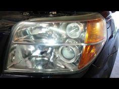 (403) 2006 Honda Pilot - Meguiar's Headlight Restoration Kit - AFTER - Polished Hazy Cloudy Lens - YouTube