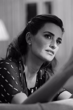 In London to host the #BAFTA Lancôme Nominee Party, #Zoolander2 actress Penélope Cruz talks sushi, supplements and SPF with Vogue