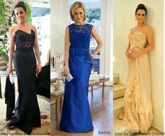 Madrinhas de casamento: Vestidos de festa com renda renascença