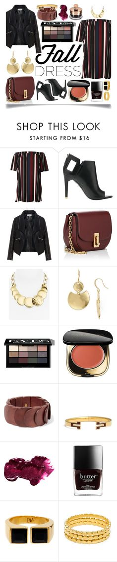 """""""Fall Look: Plus Size Dresses"""" by ittie-kittie on Polyvore featuring River Island, Alepel, Zizzi, Marc Jacobs, Robert Lee Morris, Bobbi Brown Cosmetics, Dolce&Gabbana, Kenneth Jay Lane, Tory Burch and Anastasia Beverly Hills"""