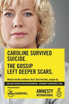 Amnesty Ireland mental health campaign