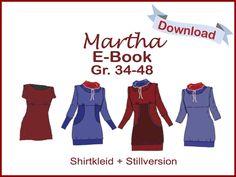 Martha eBook PDF pattern by DasMilchmonster on Etsy https://www.etsy.com/listing/156324232/martha-ebook-pdf-pattern