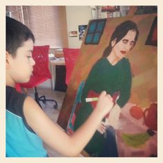 My son Sons, Painting, Art, Painting Art, My Son, Paintings, Kunst, Paint, Draw