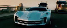 Chevrolet Corvette Stingray Concept (2009) in Transformers: Revenge of the Fallen (2009) @Chevrolet