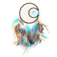 Handmade Indian Feathers Dream Catcher