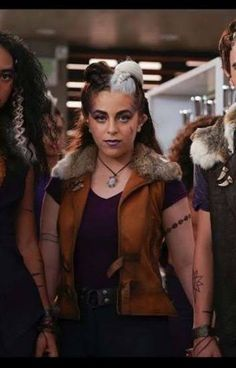 Zombies, China Anne Mcclain Instagram, Chandler Kinney, Meg Donnelly, Baby Ariel, Zombie Disney, Ty Dolla Ign, Shearling Vest, Brown Vest