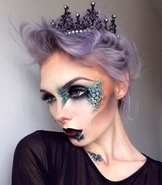 This dragon queen. | 21 Ridiculously Pretty Makeup Looks To Try This Halloween
