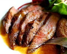 Flank Steak w/Ponzu Miso Butter Glaze  If you love steak, you must give this flank steak recipe a try. The ponzu and miso butter glaze is what makes the steak so mouthwatering and scrumptious, I am almost certain that you will love it.  Posted By: Sid Alapai
