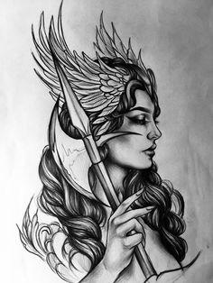 Mandala tattoos - Mandala tattoos You are in the right place about Mandala tattoos Tattoo Design And Style Galleries O - Greek Goddess Tattoo, Greek God Tattoo, Greek Mythology Tattoos, Greek Mythology Art, Roman Mythology, God Tattoos, Future Tattoos, Body Art Tattoos, Sleeve Tattoos