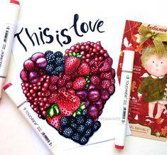 И снова первая тема в #сочный_марафон от @svekla_art  @yana_stamo @just_do_sketch @miftvorchestvo @mpm_papers  Тут можно бесконечно рисоватьибо вдохновению в этой теме нет предела. Взять только вкусныесочные и яркие ягоды! Дая обожаю ягоды. Особенно клубникучерешню и арбуз:) И если кто-то все таки читает текст под постамикакие ягоды любите вы?:) #art #creative #instaart #artist #illustration #leuchtturm1917 #copic #touchmarker #copicart #markers #foodillustration #draw #fruits #cherry…