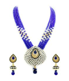 Largest collection of matching color jewelleries only at www.shibong.com