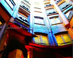Casa Mila Barcelone Espagne, photo 8 x 10