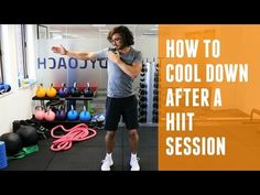 How To Cool Down After A HIIT Session | The Body Coach - YouTube